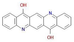 वर्णक बैंगनी-19- आण्विक-संरचना